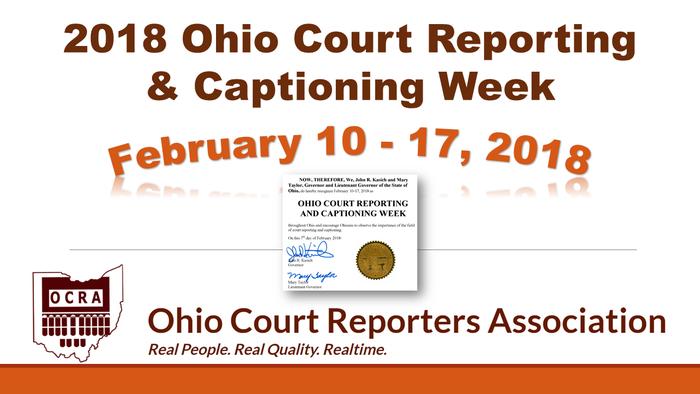 Ohio Cr And C Week 2018