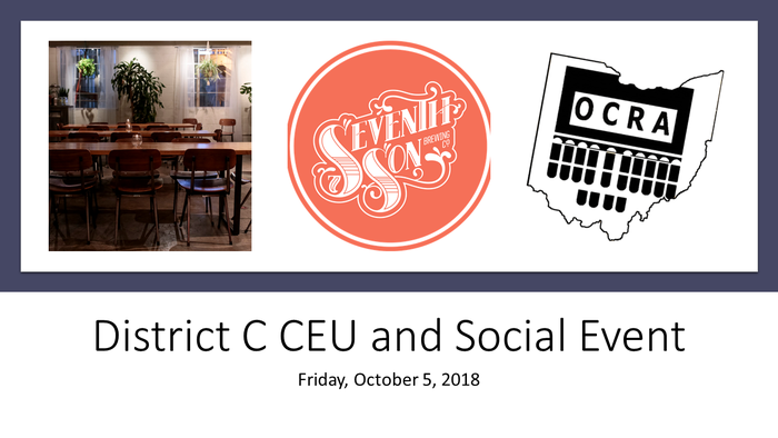 District C Ceu And Social Event
