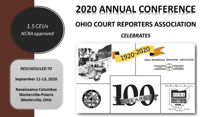 2020 Conf Announcement