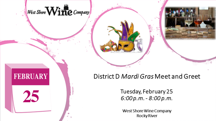 District D Mardi Gras Meet And Greet