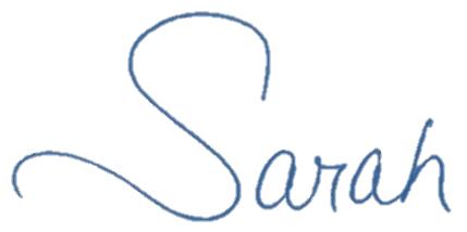 Sarah first name